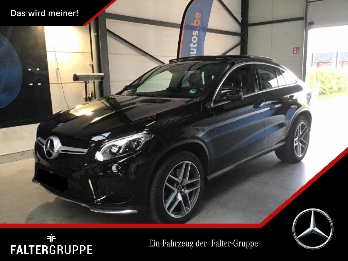Mercedes-Benz GLE 400 Coupé AMG Pano ILS Comand DAB Led.braun, Jahr 2018, Benzin