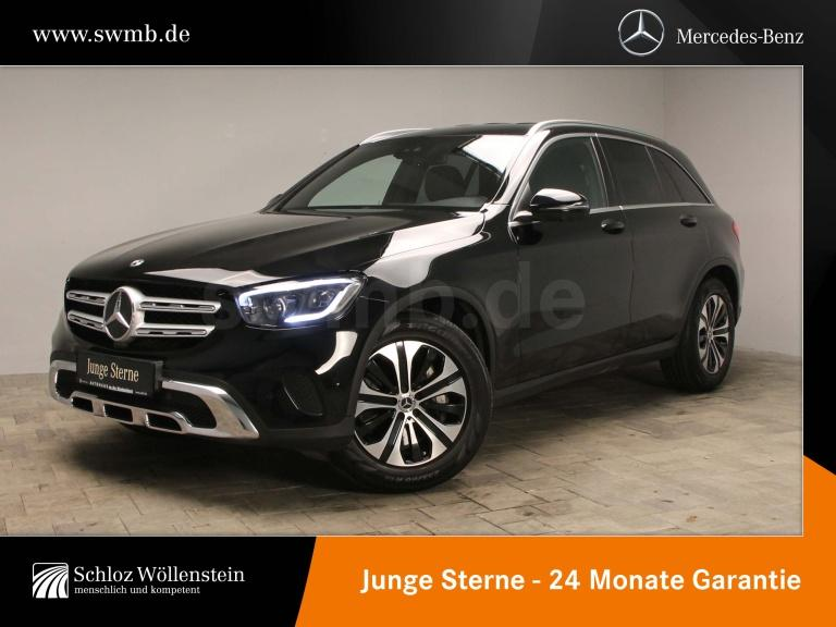 Mercedes-Benz GLC 400 d 4M Distronic/360°/LED/AHK/PDC, Jahr 2019, Diesel