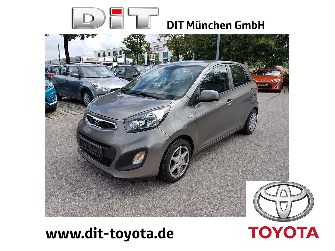 Kia Picanto 1.0 Attract *Big Deal+5nJ-Garantie, Jahr 2014, Benzin