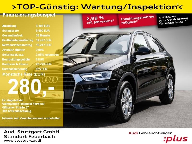 Audi Q3 1.4 TFSI Xenon Sitzheizung PDC plus Keyless, Jahr 2018, Benzin