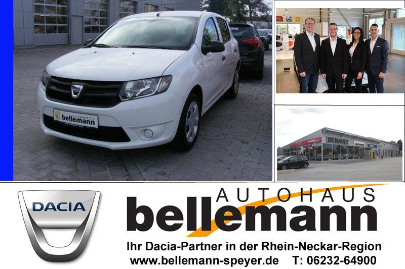 Dacia SANDERO 1.2 16V 75 Ambiance *Klima*Garantie*, Jahr 2015, petrol