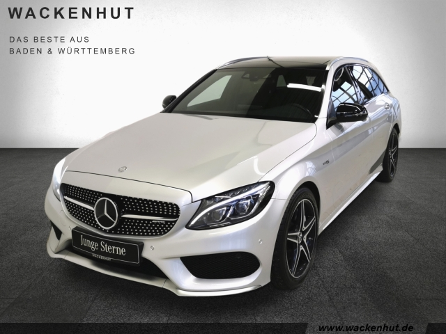 Mercedes-Benz C 43 AMG 4M T PERF.ABG.+DISTR+HUD+ILS+PANO+MEMO, Jahr 2016, Benzin