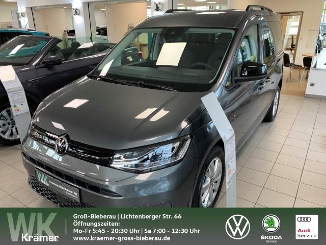 Volkswagen Caddy 2,0 TDI DSG California Wohnmobil LED Navi ACC Parklenkass. Rückfahrkam. AHK-abnehmbar PDCv+h LED-Tagfahrlicht Multif.Lenkrad, Jahr 2021, Diesel