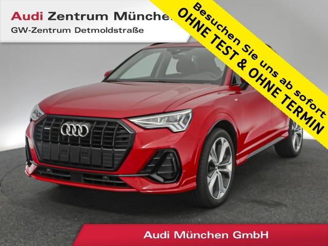 "Audi Q3 35 TDI qu. S line 20"" Virtual MatrixLED Navi el.Heckklappe R-Kamera 6-Gang, Jahr 2020, diesel"