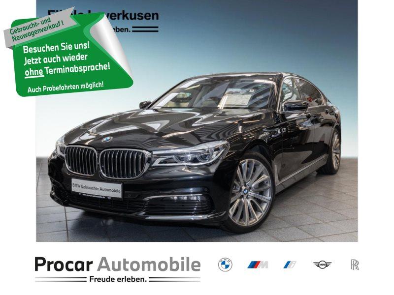BMW 750d xDrive Gestiksteuerung B&W Surround DAB, Jahr 2018, Diesel