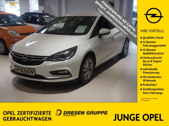 Opel Astra K 5türig ON Start Stop 1.0 Turbo, Anhängerkupplung, Sitz-u. Lenkradheizung, LM-Felgen, uvm, Jahr 2018, Benzin
