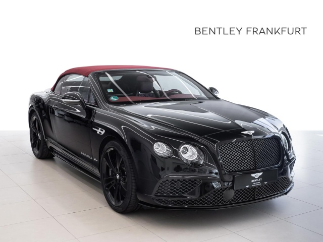 Bentley Continental GTC Speed CARBONBREMSE / BLACKLINE, Jahr 2017, Benzin