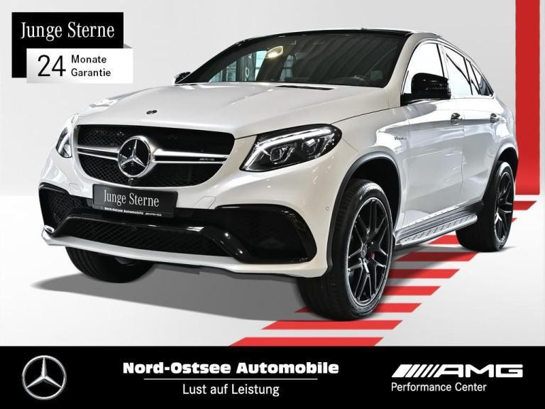 Mercedes-Benz GLE 63 S AMG Comand 4M Standh. Drivers P. AHK, Jahr 2017, Benzin