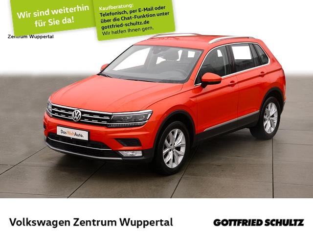 Volkswagen Tiguan 2,0 TDI Highline DSG NAVI LED VC STANDHZG SHZ PDC, Jahr 2016, Diesel