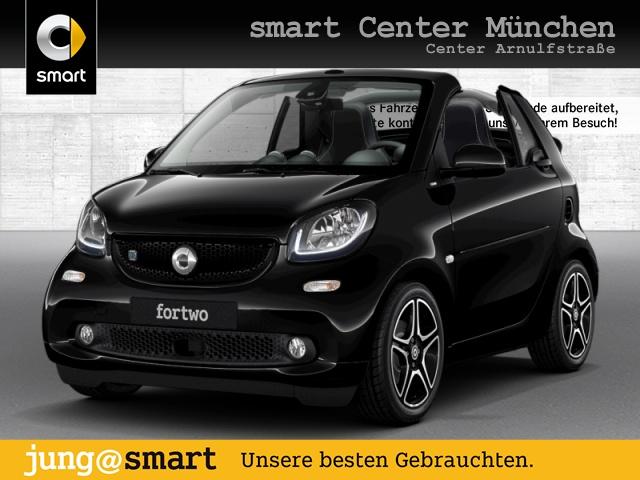 smart fortwo cabrio 60kWed prime cool&Media SHZ LED JBL, Jahr 2017, Elektro
