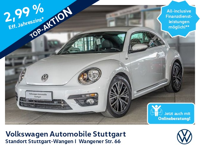 Volkswagen Beetle Allstar 1.2 TSI Navi Kamera SHZ GRA, Jahr 2016, Benzin