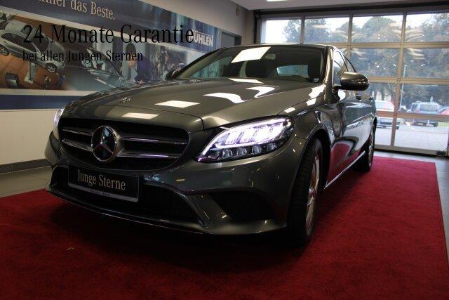 Mercedes-Benz C 180 Avantgarde LED+Kamera+Klima Sitzhzg./BC, Jahr 2018, Benzin