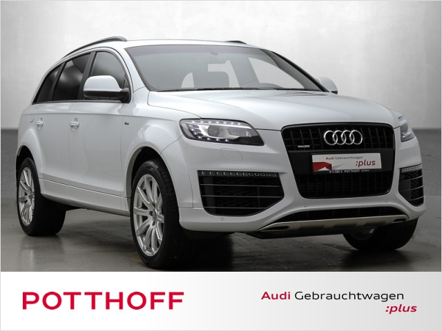 Audi Q7 3.0 TDi q S-line Kamera Navi Xenon Sitzhzg, Jahr 2014, diesel