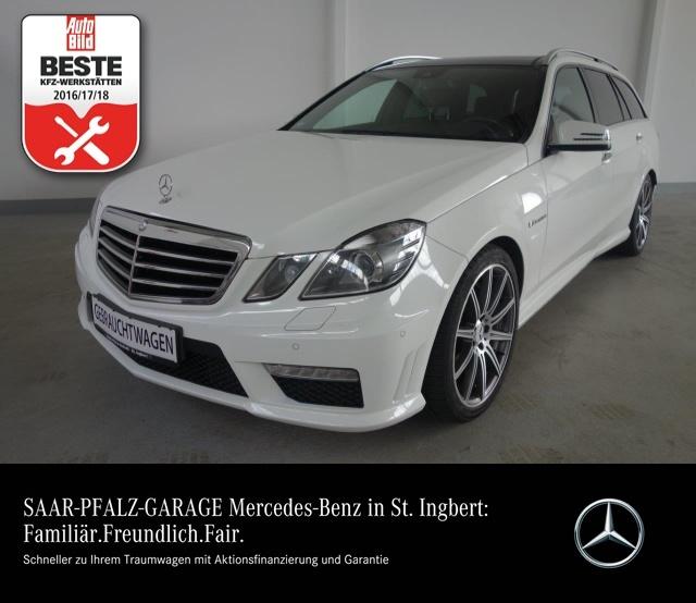 Mercedes-Benz E 63 AMG T XENON*COMAND*PANO-D*PTS*MB GARANTIE!*, Jahr 2012, petrol