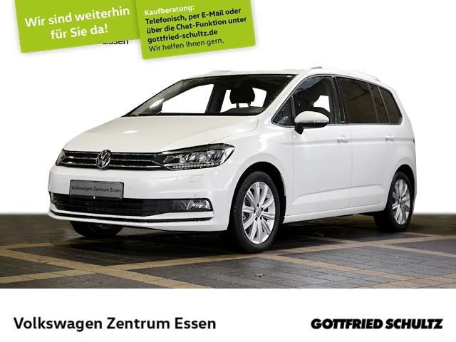 Volkswagen Touran United 1,5 TSI DSG NAVI PANO LED ALU17, Jahr 2020, Benzin