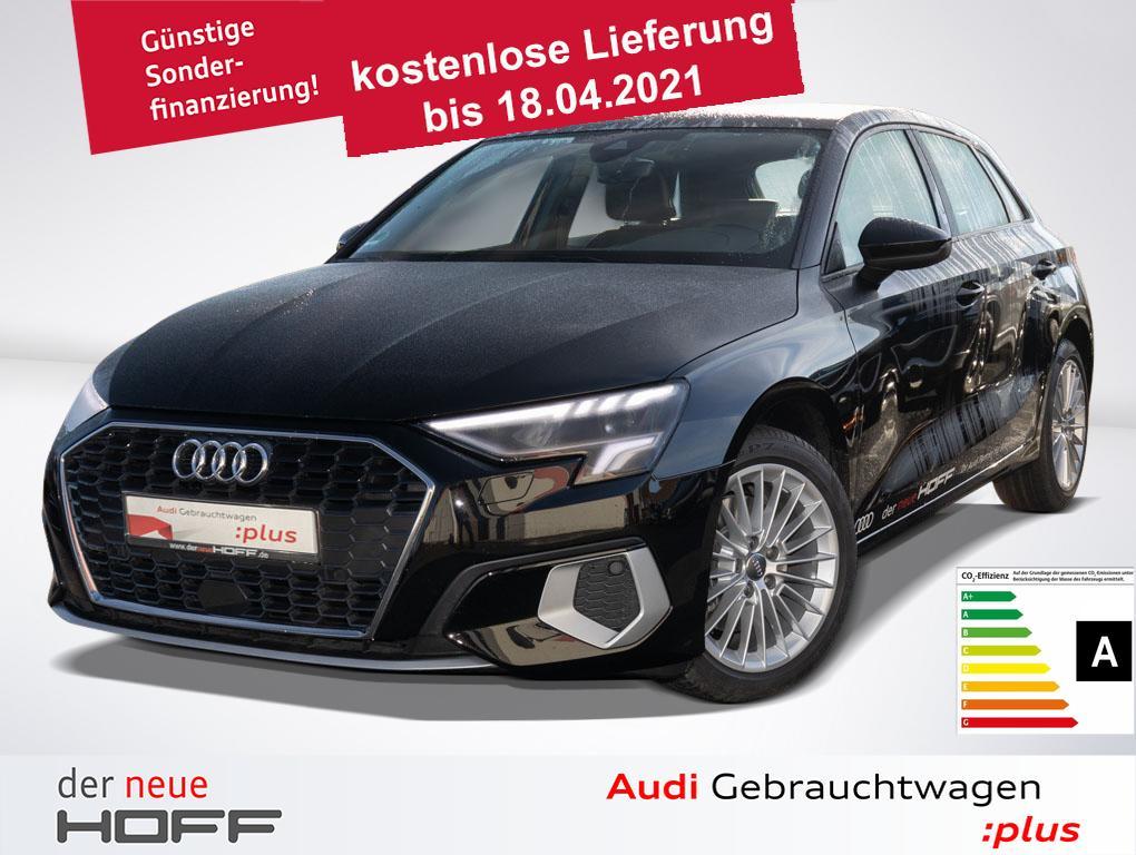 Audi A3 Sportback advanced 35 TFSI LED 17Zoll ASI Blu, Jahr 2020, Benzin