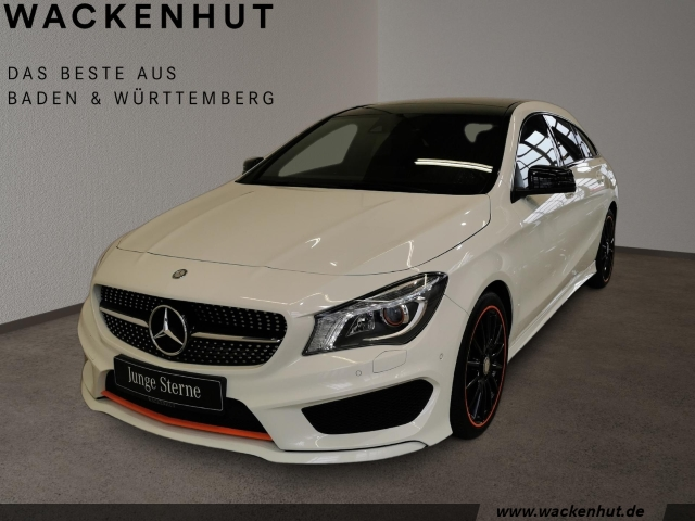 Mercedes-Benz CLA 200 Shooting Brake d ORANGE EDITION AMG+NIGH, Jahr 2015, Diesel