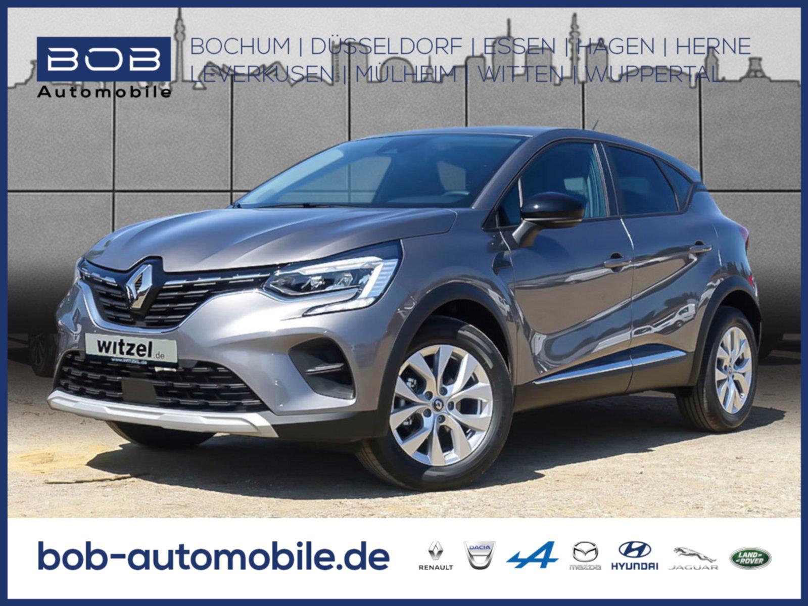 Renault Captur EXPERIENCE TCe 100 SHZ PDC KLIMA LM, Jahr 2020, Benzin