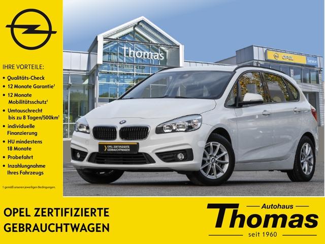 BMW 218 Active Tourer PDC Klimaautom SHZ, Jahr 2014, Benzin