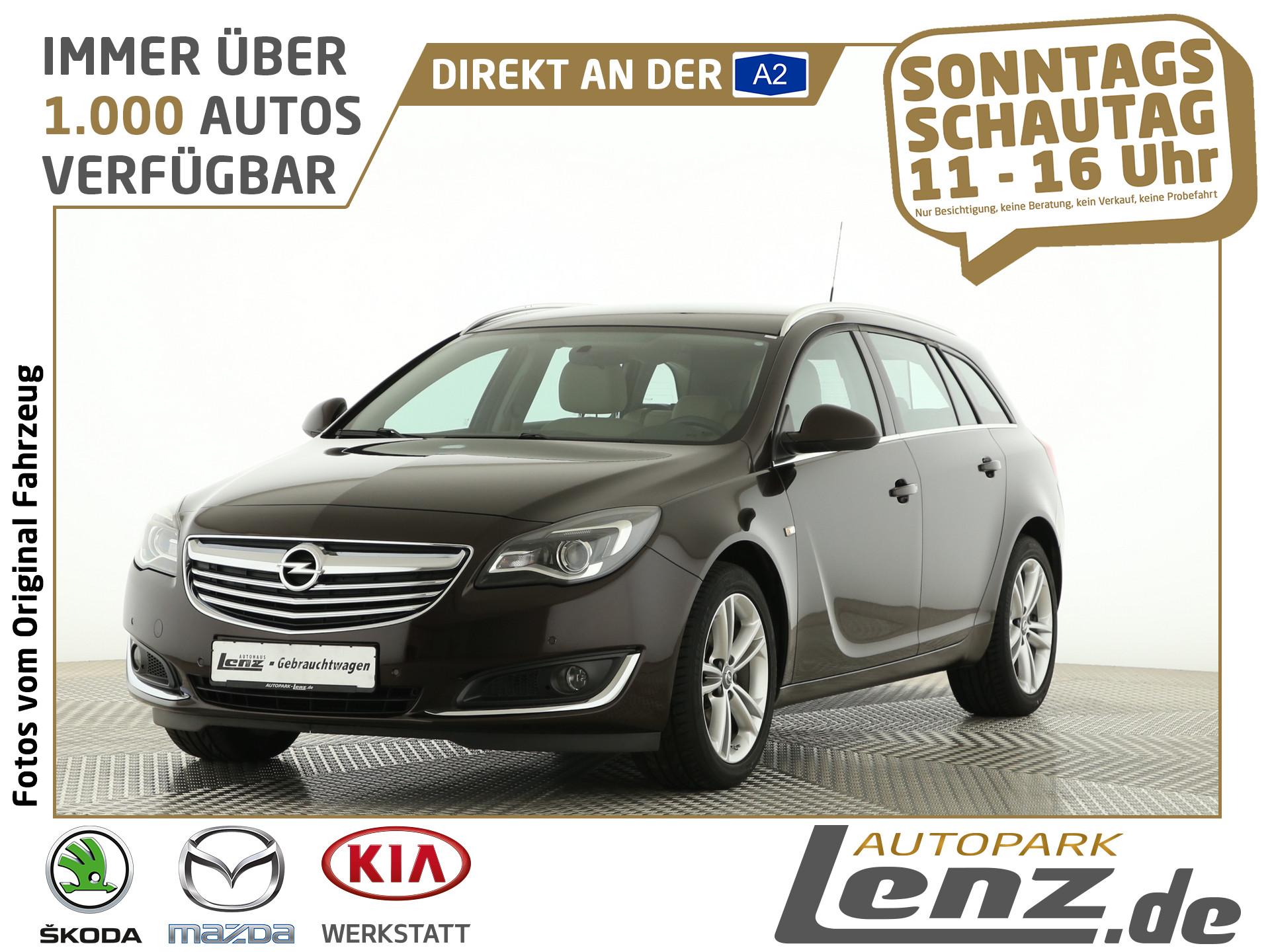 Opel Insignia ST Edition PDC SHZ FSE Klimaautomatik, Jahr 2013, Benzin