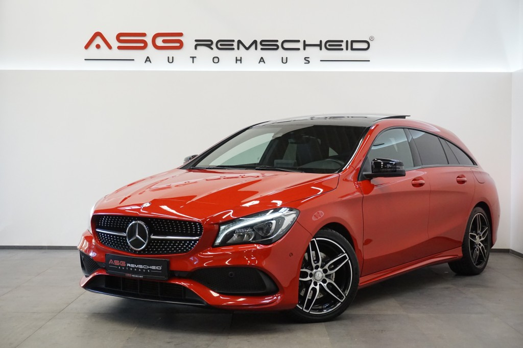 Mercedes-Benz CLA 220 Shooting Brake CDI 7G-T. AMG Line *Distr, Jahr 2017, Diesel