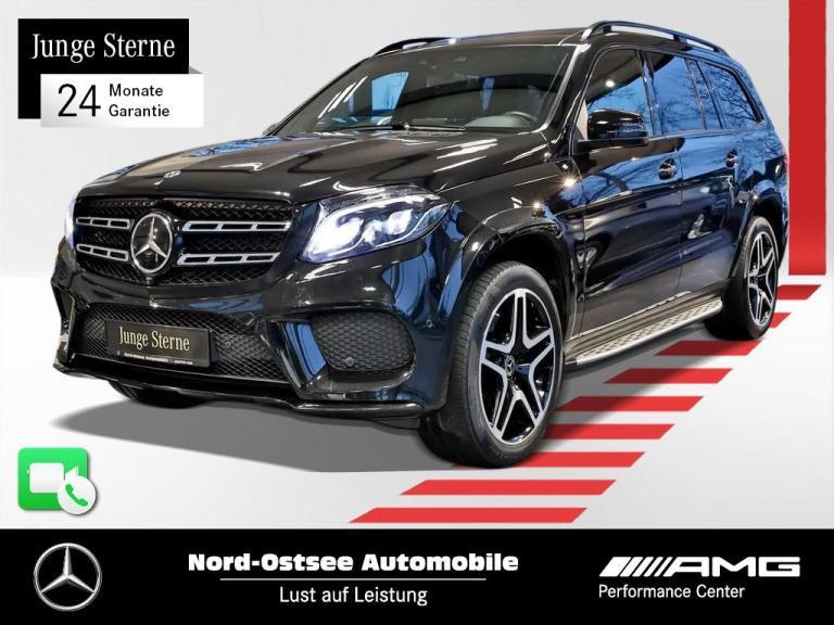 Mercedes-Benz GLS 500 AMG 4M Night Standhzg AHK Distronic ACS, Jahr 2017, Benzin