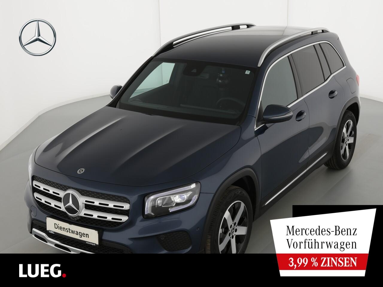 Mercedes-Benz GLB 180 PROGRESSIVE+AHK+KAMERA+LED+MBUX-ADVANCED, Jahr 2021, Benzin