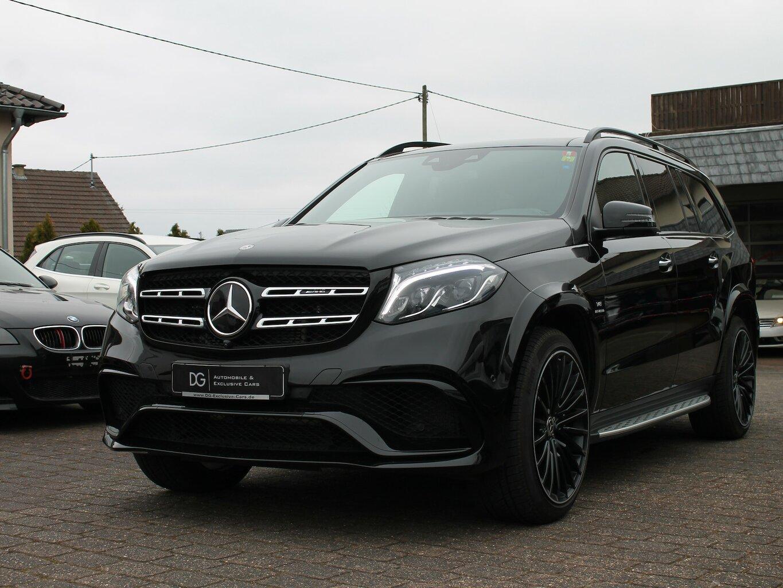 Mercedes-Benz GLS 63 AMG, Jahr 2019, Benzin