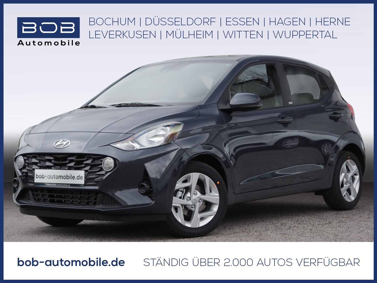 Hyundai i10 1.0 Trend Navigations-P Kamera Bluelink, Jahr 2021, Benzin