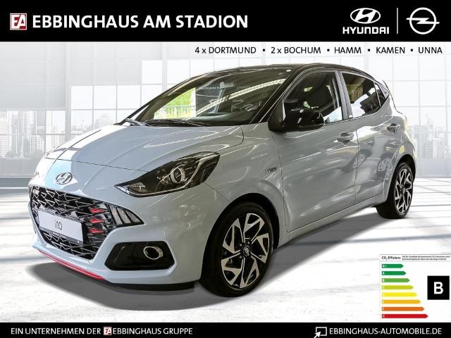 Hyundai i10 N-Line 1.0 EU6d Fernlichtass. LED-hinten LED-Tagfahrlicht Multif.Lenkrad RDC Alarm, Jahr 2020, Benzin
