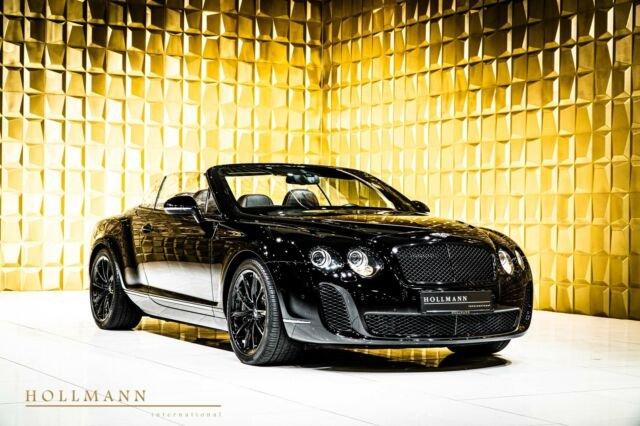 Bentley Continental GTC + Supersports + Comfort Seats +, Jahr 2012, Benzin