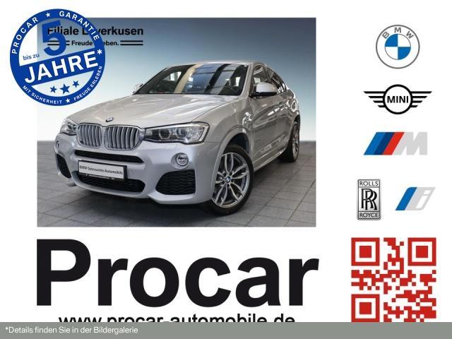 BMW X4 xDrive30d AT M Sport Navi Business LM AHK, Jahr 2017, Diesel