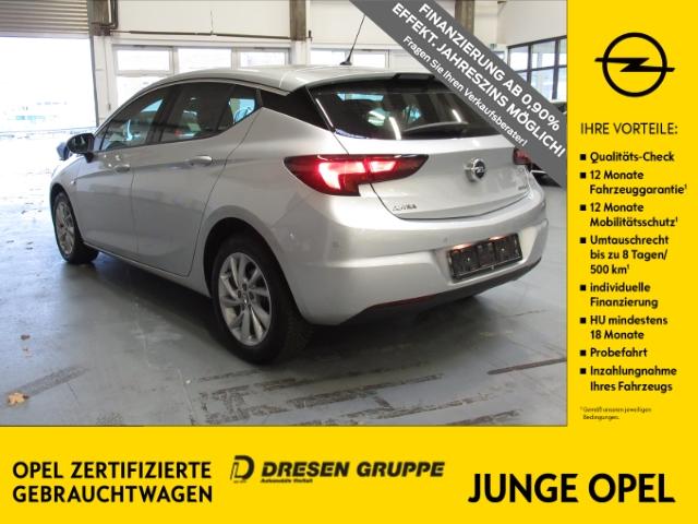 Opel Astra K INNOVATION Parkpilot/Klimaautom/Sitzheizung, Jahr 2018, Benzin