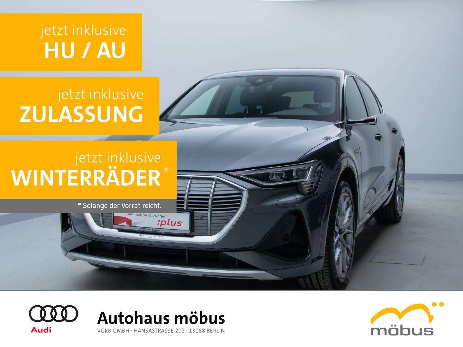 Audi e-tron Sportback S line 50 QU*VIRT*LEDER*PAN*B&O, Jahr 2020, Elektro