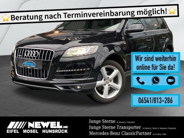 Audi Q7 3.0 TDI quattro S-LINE LED*NAVI*STANDHZ*LEDER, Jahr 2014, Diesel
