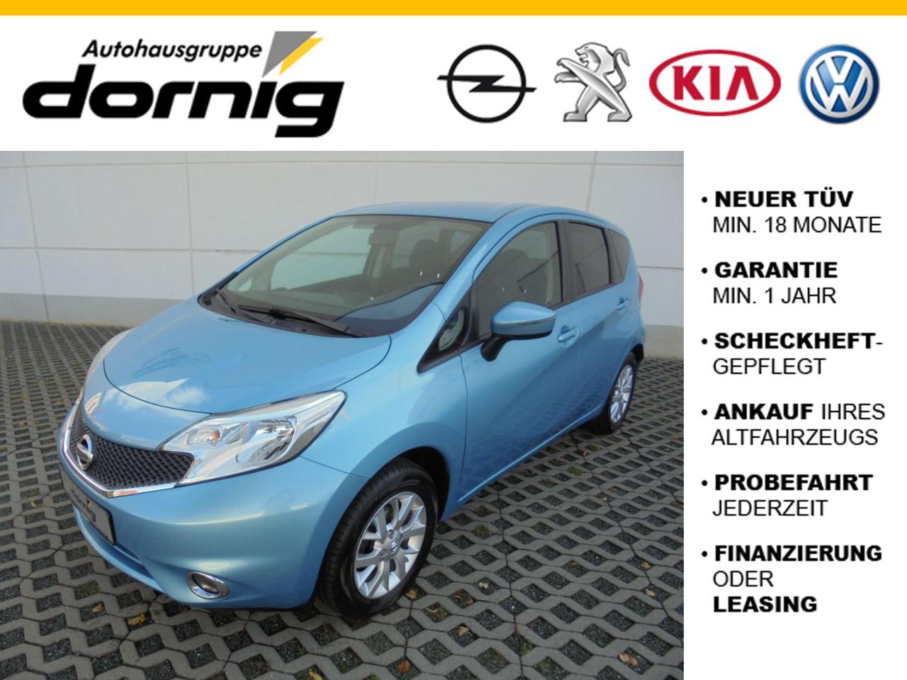 Nissan Note Acenta,Klima, Alu, Jahr 2014, Benzin