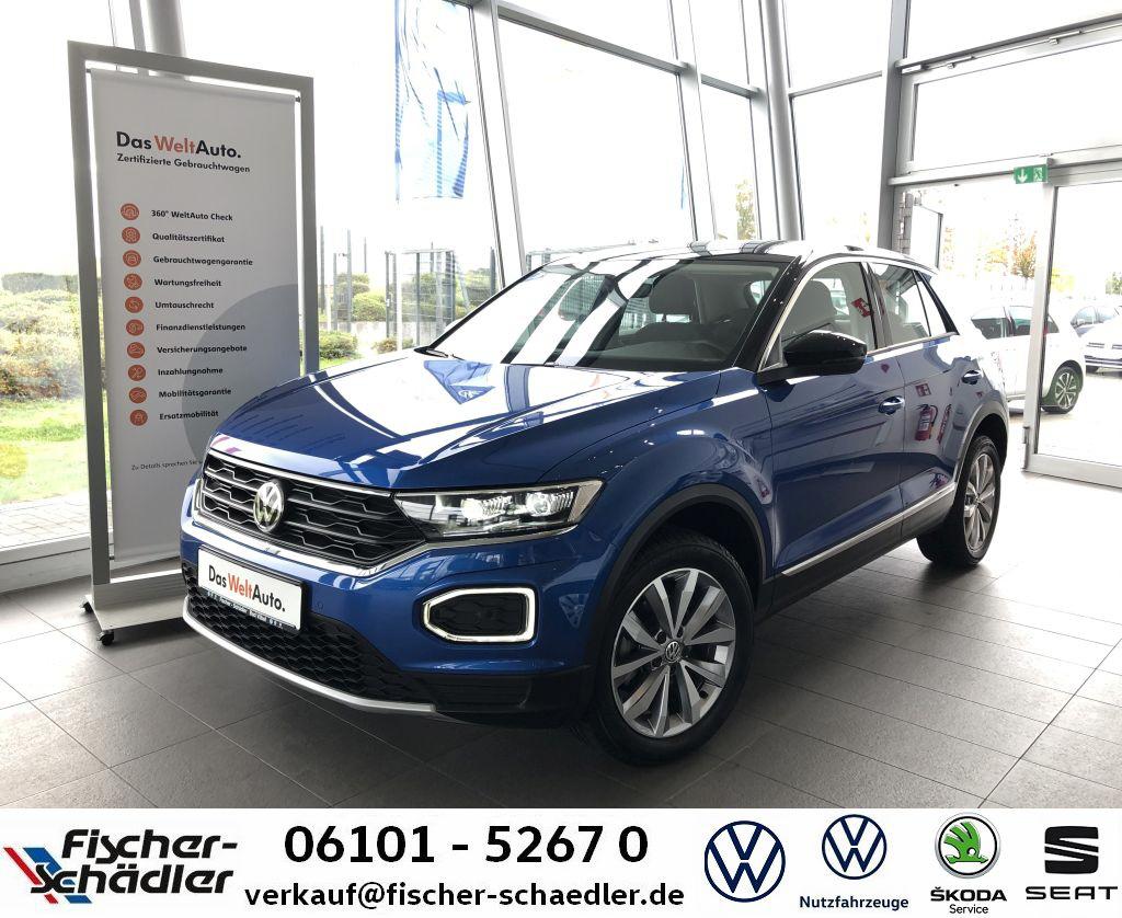 Volkswagen T-ROC Style 1.5TSI*DSG*AHK*LED*StandHz.*FrontAss, Jahr 2019, Benzin
