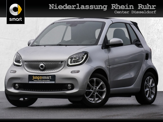 smart fortwo cabrio 66kW passion DCT cool&Media SHZ LED, Jahr 2019, Benzin