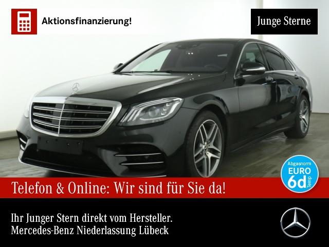 Mercedes-Benz S 450 L 4M AMG Nachtsicht Fondent 360° Pano Distr, Jahr 2020, Benzin