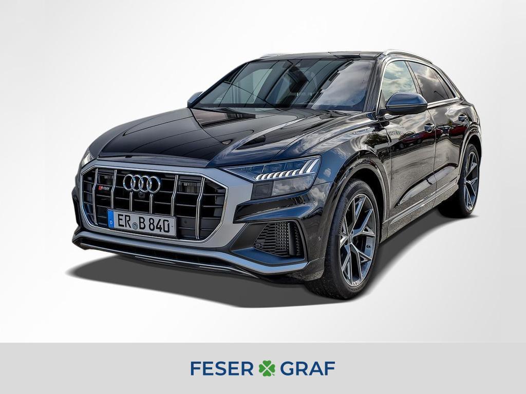 Audi SQ8 TDI AHK Headup Matrix Pano Standheiz, Jahr 2019, Diesel