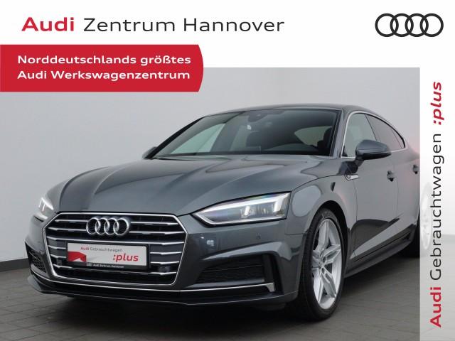 "Audi A5 Sportback 2.0 TDI S-line, virtual, LED, Alcant., 19"", Navi, Jahr 2018, diesel"