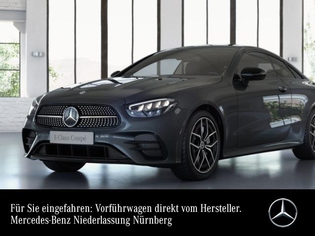 """Mercedes-Benz E 200 Coupé AMG+Night+LED+Fahrass+Kamera+19""""+9G, Jahr 2021, petrol"""