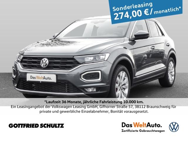 Volkswagen T-Roc 1.5 TSI DSG HIGHLINE LED NAVI ACC RÜFA SHZ, Jahr 2020, Benzin