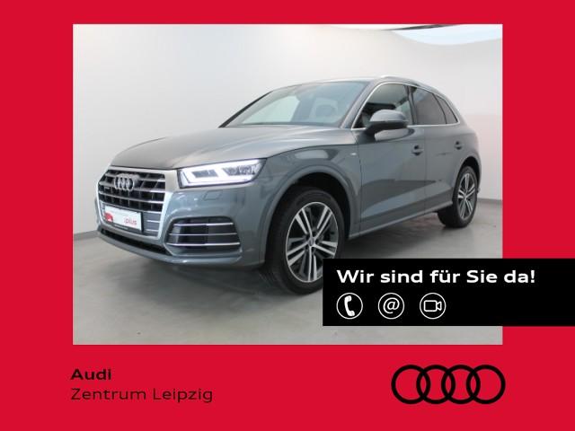 Audi Q5 2.0 TFSI sport qu. S-tro. *2xS-line*Pano*LED*, Jahr 2018, Benzin