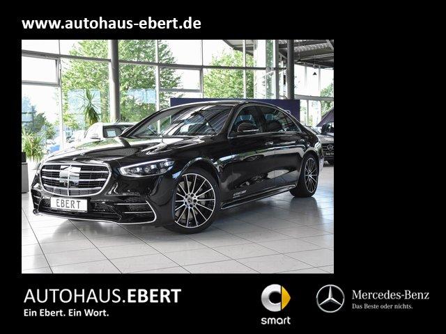 Mercedes-Benz S 450 4MATIC Limousine lang+AMG-Line+Standheizg., Jahr 2021, Benzin