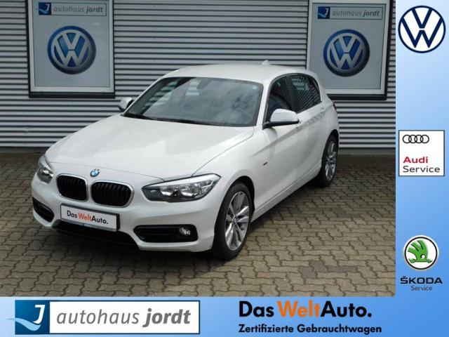 BMW 120d DPF Sport Line 6-Gang AHK Navi SHZ Climatr., Jahr 2015, Diesel
