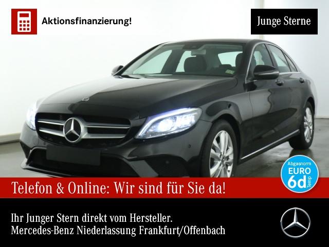 Mercedes-Benz C 180 Avantgarde Multibeam Kamera Spurhalt-Ass PTS, Jahr 2019, Benzin