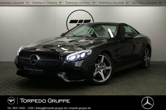 Mercedes-Benz SL 400 AMG AIRSCARF+NAVI+COMAND+LED+DISTR+KAMERA, Jahr 2020, Benzin