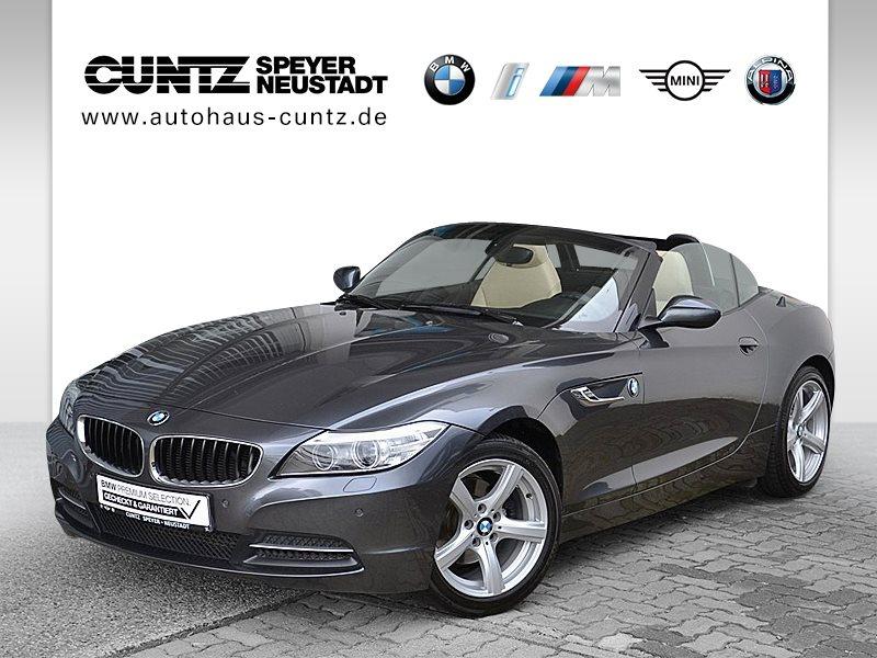 BMW Z4 sDrive18i HiFi Xenon USB Klimaaut. Shz PDC, Jahr 2013, petrol