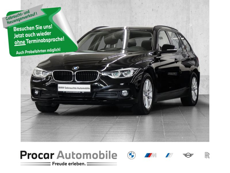 BMW 316d Touring 8-fach Bereifung+Led+Navi+PDC+Tempomat+Shz, Jahr 2018, Diesel